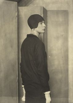 Lady Abdy, 1925  by Man Ray