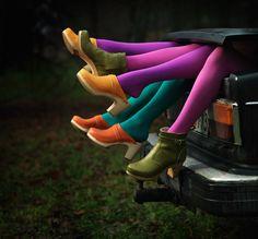 Scarpe da Donna con Tacco · Swedish Hasbeens Combinazioni Di Colori b02e9d1dbbea