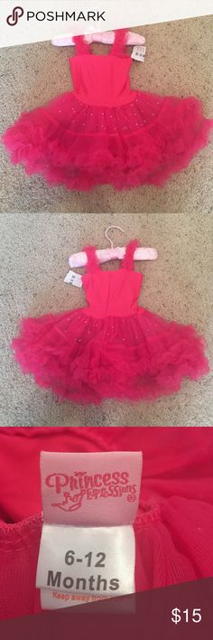 Baby Pink Tutu Dress This Tutu dress would be so cute for Pictures. NEW with tags!! Size 6-12 Dresses Formal