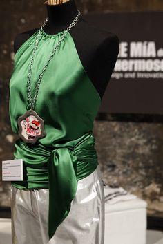 """Aro"" green by Madre Mía del Amor Hermoso"