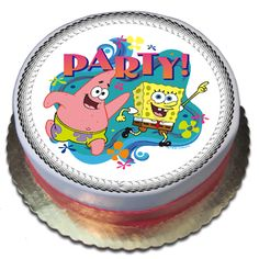 Spongebob Cake This Is Our Best Birthday Party Buy For