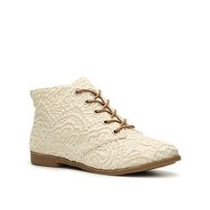 Love these lace boots from DSW