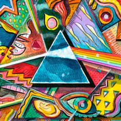 ☮ American Hippie Classic Rock Music ~ Pink Floyd . . Dark Side of the Moon 40th Anniversary