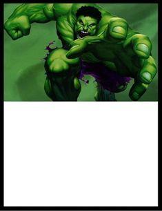 ideia de convite para imprimir do hulk Hulk Birthday Parties, Avenger Cake, Vila Ema, Avengers, Joker, Superhero, Fictional Characters, Invitation Ideas, Invitation Birthday