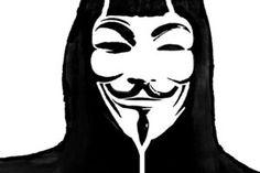 V for Vendetta Stencil 2 by beraka