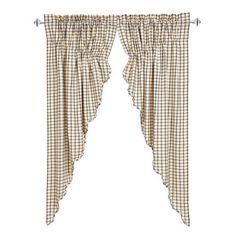 Ethan Scalloped Lined Prairie Curtains