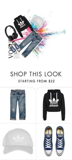 """""""Enjoy music"""" by anjelabradly ❤ liked on Polyvore featuring Givenchy, Topshop and Converse"""