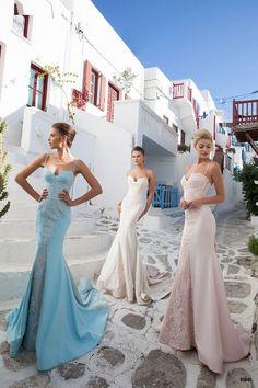 Elegant Series Spaghetti Sweetheart Applique Mermaid Backless Sleeveless Sweep Train Evening Prom Dress