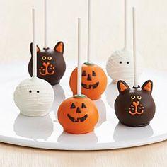 Halloween Cake Pops! @Kristyn Fitzgerald Anthony ;)