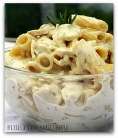 Rosemary Chicken Goat Cheese Pasta - I recently made this and used garlic herb goat cheese and it amped up the flavor even more! VERY good either way our pickiest of eaters LOVE it, too!
