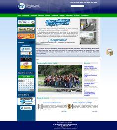 re diseño y programación del site para la UNIDAD EDUCATIVA TOMAS MORO,