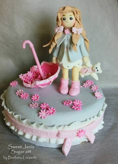 Cake Decorating Classes Epsom : Pen and ink, Barn cake and Hand painted cakes on Pinterest