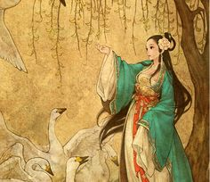 Our fave Disney stories and fairy tales got an unbelievably gorgeous East Asian makeover: Wild Swans