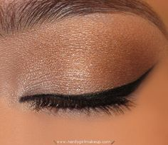 Neutral Eye with Dramatic Liner