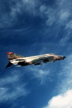 F-4 Phantom // So ugly it's a beautiful airplane. It doesn't look like it should fly. I guess if you put two giant engines on a rock it will do mach 2!