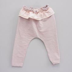 Lea Frill Baggy Pants (2C)