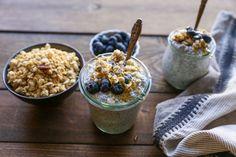 A photo tutorial on how to make delicious and healthy chia seed pudding in just a few easy steps, requiring only a few ingredients.
