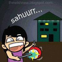 dp bbm sahur bulan ramadhan
