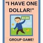 """EASY GROUP GAME ACTION!  """"I have ONE DOLLAR!  I can pass it on!""""  What could you buy for ONE DOLLAR, that you could give to a friend?  Play a funny Group Game and find out!  Great for Circle Time, Camp Time, or ANY TIME you need a game where everybody gets a turn!  Enjoy a great 'beat' and a funny RHYME!  Use the """"$1 Gift Guide"""" Poster to record the creative 'gift clues' your kids invent.  Nothing to buy-- just bring out a real or 'play-money' DOLLAR!  (6 pages)  Joyful Noises Express TpT…"""