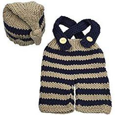 Jastore® Newborn Infant Baby Boy Photography Prop Costume Cute Cap Pants