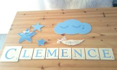 Bamboo Cutting Board, Creations, Scrabble Letters