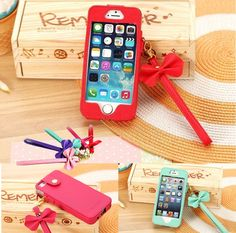 Stylish PU Leather Pouch Sleeve Case Cover for Apple iphone 5 5G with Strap
