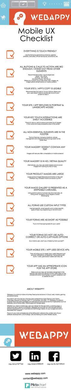 Mobile UX Checklist #adidas #adidasmen #adidasfitness #adidasman #adidassportwear #adidasformen #adidasforman