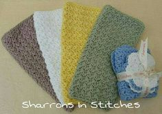 Check out this item in my Etsy shop https://www.etsy.com/uk/listing/243562598/washcloths-scrubbies-cotton-spa-baby