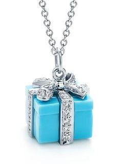 Tiffany pendant- your very own Tiffany box!