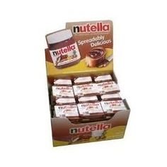 @Rebeka Nickolaus   thought you should know!!! 36 Individual Nutella Single Serve packs (Net Weight .6 ounces each) $14.00