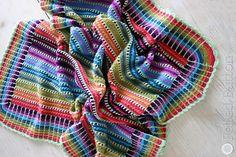 Skittles Crochet Blanket Pattern Is A Stunner