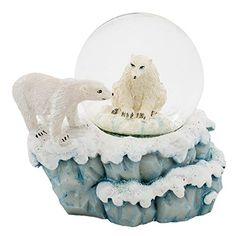 Polar Bears 3 x 3 Miniature Resin Stone 45MM Water Globe ... https://www.amazon.com/dp/B01EKBBB84/ref=cm_sw_r_pi_dp_x_-XNpybPK2E8G8