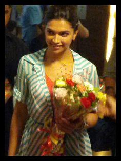 Deepika Padukone promoting 'Yeh Jawaani Hai Deewani'