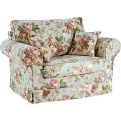 Floral Chair (€399) found on Polyvore