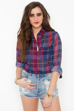 sheer plaid. need.
