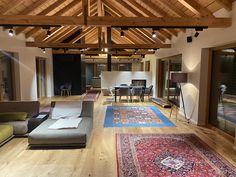 Ausbau einer alten Scheune Modern, Table, Room, Furniture, Design, Home Decor, Hotel Bedrooms, Barn, Bedroom