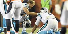 NFL To Investigate Cam Newton's Head Hits In Broncos