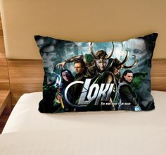 LOKI LAUFEYSON The Dark World on Pillowcase size by allaboutgift89, $13.99