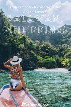 10 Dream Destinations for a Honeymoon - Honeymoon ideas Philippines Beaches, Philippines Travel, European Honeymoon Destinations, Travel Destinations, Best Honeymoon, Affordable Honeymoon, Honeymoon Ideas, Beach Trip, Beach Vacations
