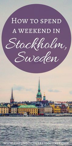 Stockholm Sweden is a beautiful vacation spot comprised of multiple islands. It is every bit as beautiful and vibrant as people say. We will show you our favorite restaurants in Stockholm, where to get true Swedish meals in Stockholm, where to stay in Stockholm, what to see in Stockholm and much more! Come see what all the fuss is about. Don't forget to save this to your travel board so you can plan your trip.