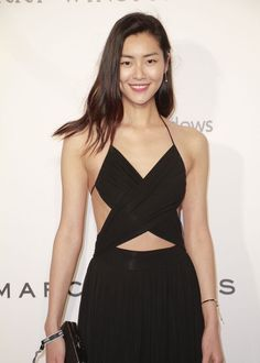 "amfAR Hong Kong Event, Marcochan.pro represents - the ""Hollywood Style Squad"", Liu Wen. Hair by Marco Chan Makeup by Evelyn Ho"