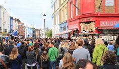 Portobello road- antiques, vintage, markets in London