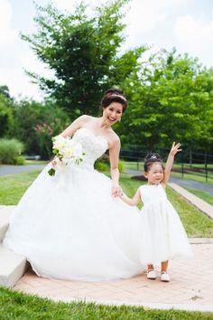 Virginia Wedding Flower Girl