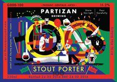 Partizan Brewing - 100th Brew! Stout Porter