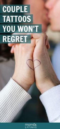 30 Couple tattoos you won't ever regret because they work even if you break up. #tattoos #coupletattoos