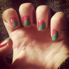 Sellotape nails tutorial nails pinterest manicure prinsesfo Gallery