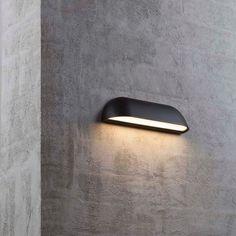 Applique extérieur carré Lampe Arbour IP44 LED H13 cm Anthracite