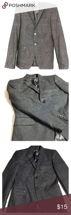 H&M black/charcoal Blazer Size : US 34R /// Fit: Slim Fit //// Mint Condition , Rarely used. H&M Suits & Blazers Sport Coats & Blazers