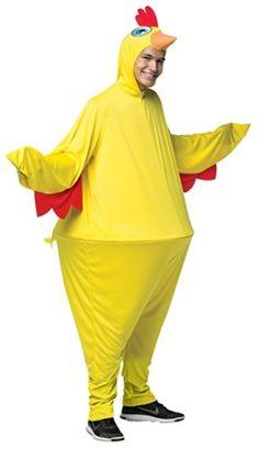 Chicken Hoopster Men's Adult Halloween Costume, One Size, Size: Men One size, Multi-color Costume Halloween, Halloween Costumes For Girls, Halloween Fancy Dress, Adult Halloween, Halloween Party, Costumes Poulet, Chicken Costumes, Funny Costumes, Baby Costumes