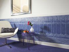 Bestnoten für Haltbarkeit gehen an Lincrusta. Der robuste Wandbelag, der auf den ersten Blick die Wirkung alter geprägter Tapeten hat, sieht auch nach Jahren noch aus wie neu.